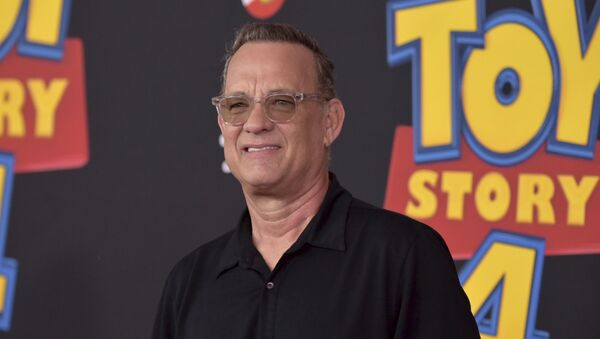 Tom Hanks, actor estadounidense - Sputnik Mundo