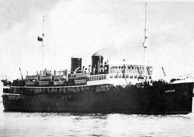 El barco hospital Armenia