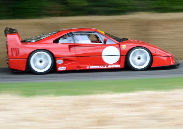 Un Ferrari F40, imagen referencial