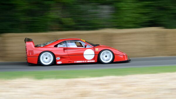 Un Ferrari F40, imagen referencial - Sputnik Mundo