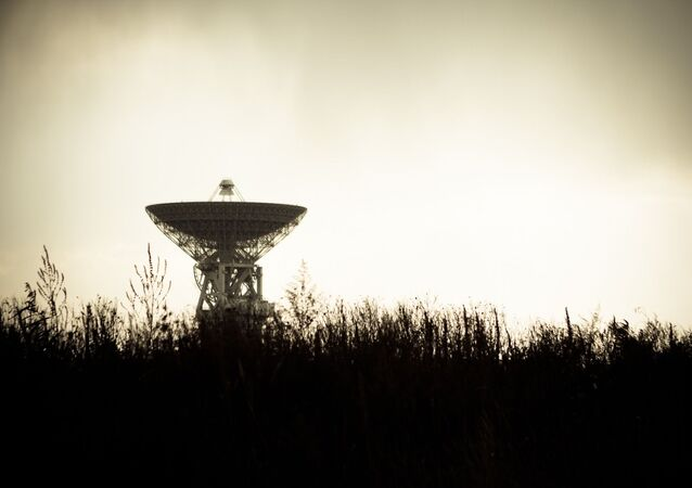 Una antena de un radiotelescopio (imagen referencial)