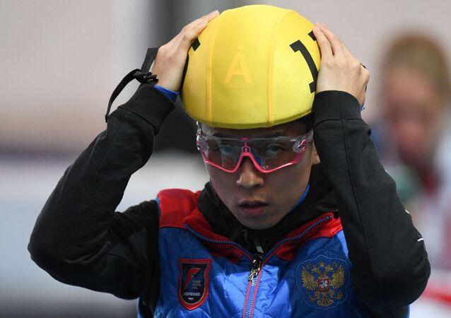 Victor Ahn, patinador en pista corta