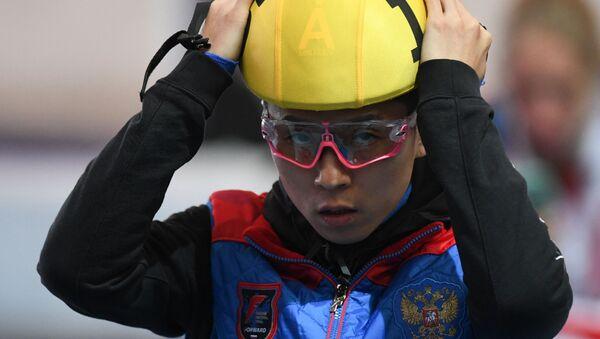 Victor Ahn, patinador en pista corta - Sputnik Mundo