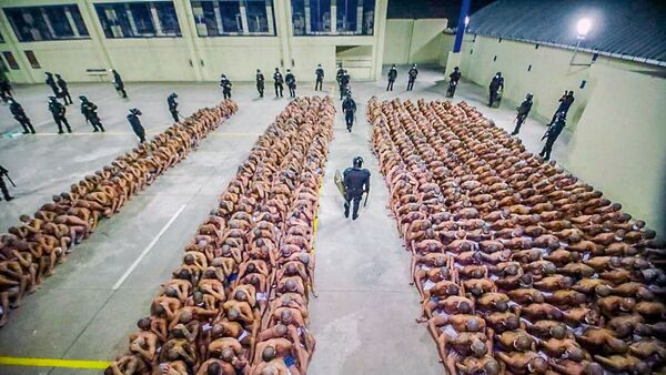 Mezcla de pandillas en una prisión de El Salvador - Sputnik Mundo