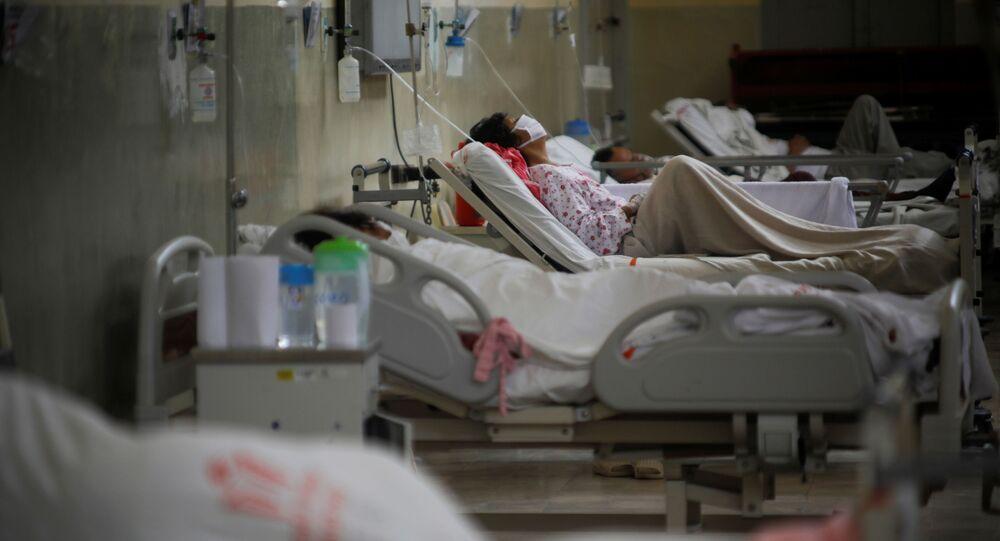 Pacientes con coronavirus en Perú