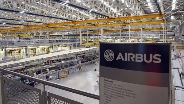 Fábrica de Airbus en Broughton, Reino Unido - Sputnik Mundo