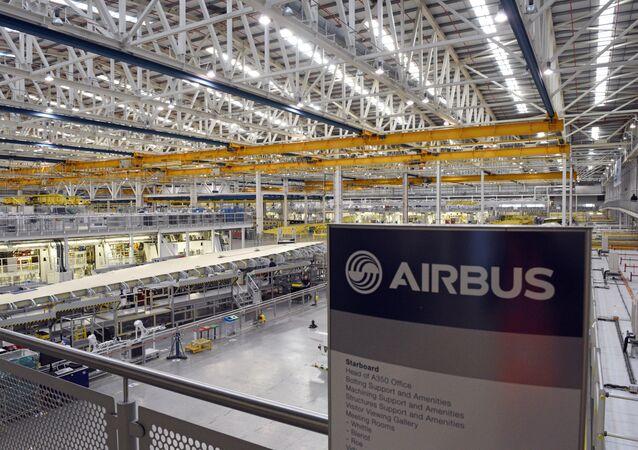 Fábrica de Airbus en Broughton, Reino Unido