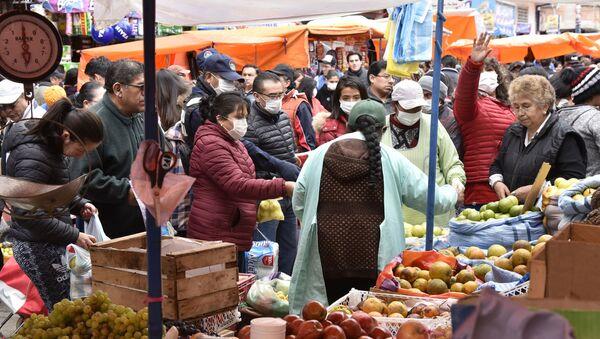 Mercado en La Paz, Bolivia - Sputnik Mundo