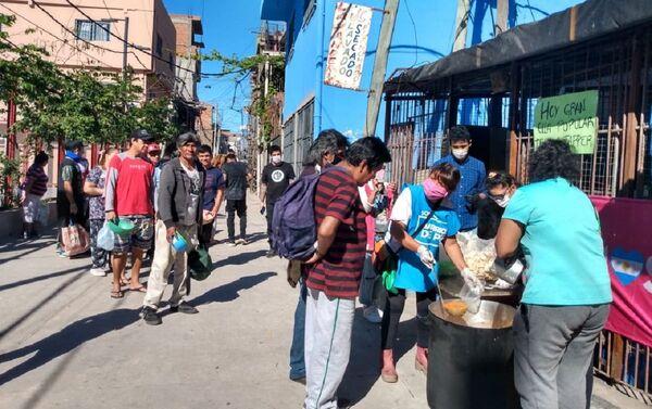 Olla popular de Somos - Barrios de Pie - Sputnik Mundo