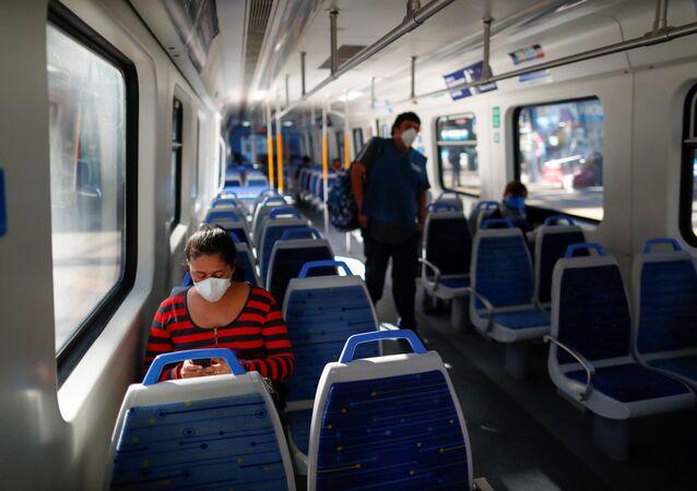 Un tren en Buenos Aires, Argentina