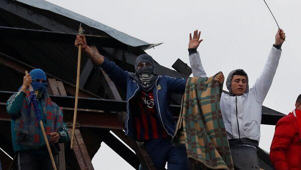 Motín en cárcel de Devoto, Buenos Aires, en reclamo de medidas contra COVID-19 - Sputnik Mundo