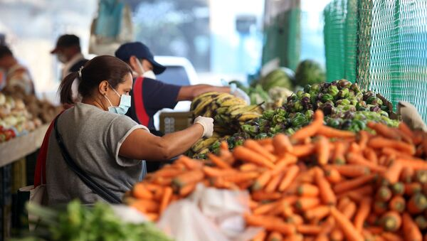 Un mercado en Caracas, Venezuela - Sputnik Mundo
