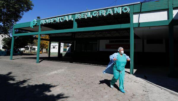 Un hospital en Argentina - Sputnik Mundo