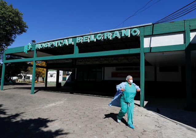 Un hospital en Argentina