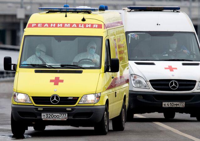 Ambulancias de Moscú