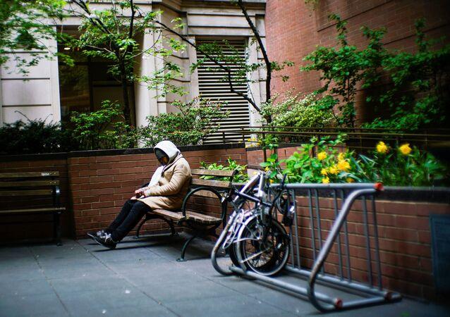Una persona sin hogar (imagen referencial)