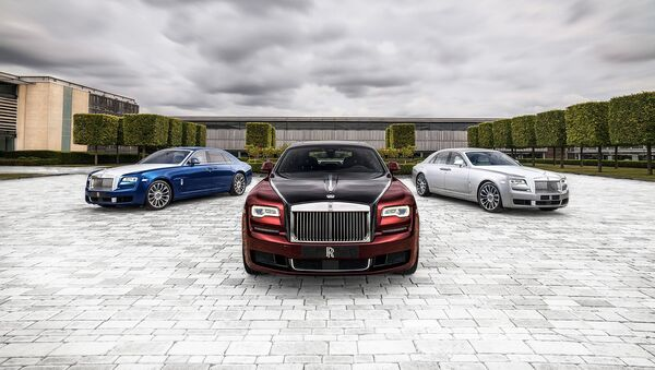 Vehículos de la marca Rolls Royce - Sputnik Mundo