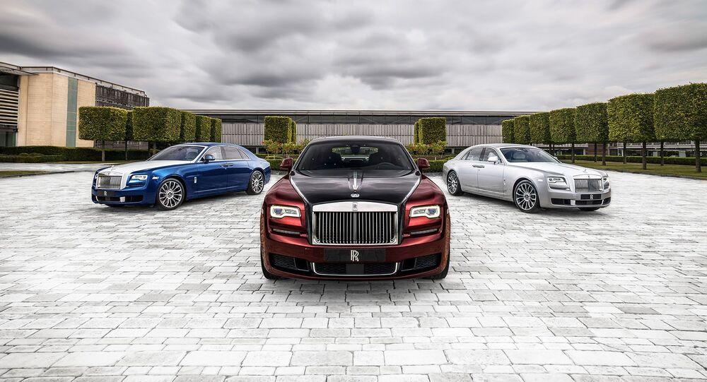 Vehículos de la marca Rolls Royce