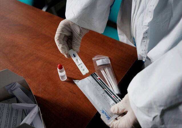 Un test para detectar el coronavirus