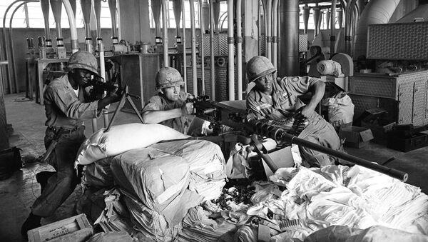 Soldados estadounidenses en la República Dominicana, 1965 - Sputnik Mundo