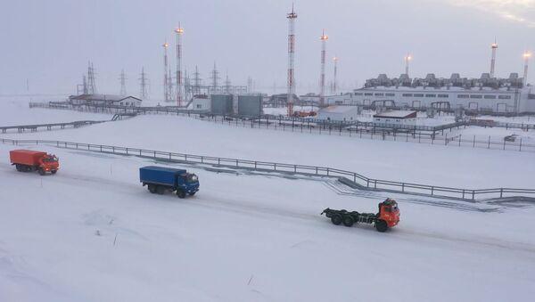 Prueban los camiones autónomos Kamaz en condiciones extremas en Rusia - Sputnik Mundo