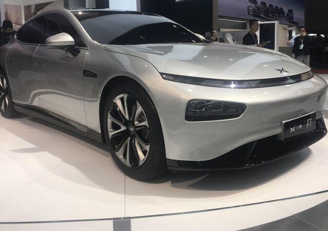 Xpeng P7, auto eléctrico chino