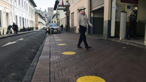 Situación en Quito, Ecuador - Sputnik Mundo