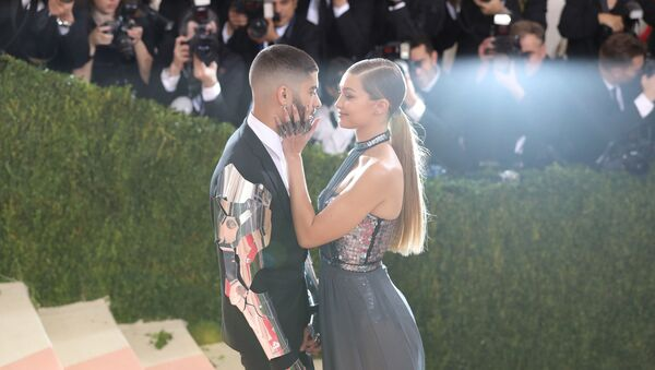 El exintegrante de One Direction Zayn Malik y la modelo Gigi Hadid - Sputnik Mundo