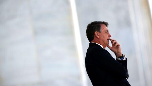 Jair Bolsonaro, presidente de Brasil (archivo) - Sputnik Mundo
