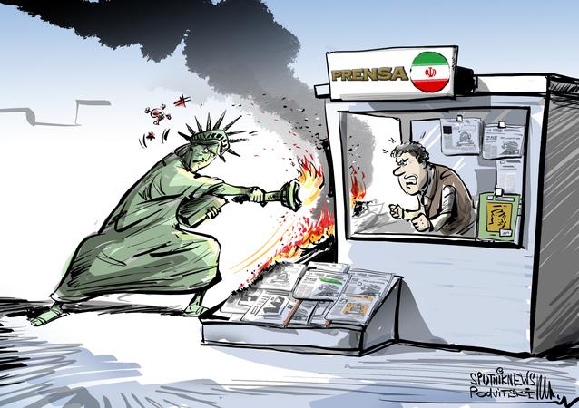 Terrorismo mediático: el Departamento del Tesoro de EEUU bloquea dominios web de medios iraníes