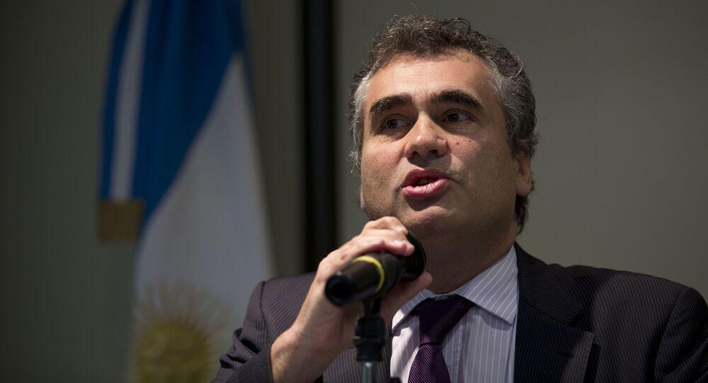 Alejandro Vanoli, director de la Administración Nacional de la Seguridad Social