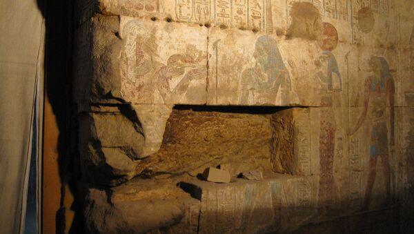 Parte del templo de Osiris y Opet (archivo) - Sputnik Mundo