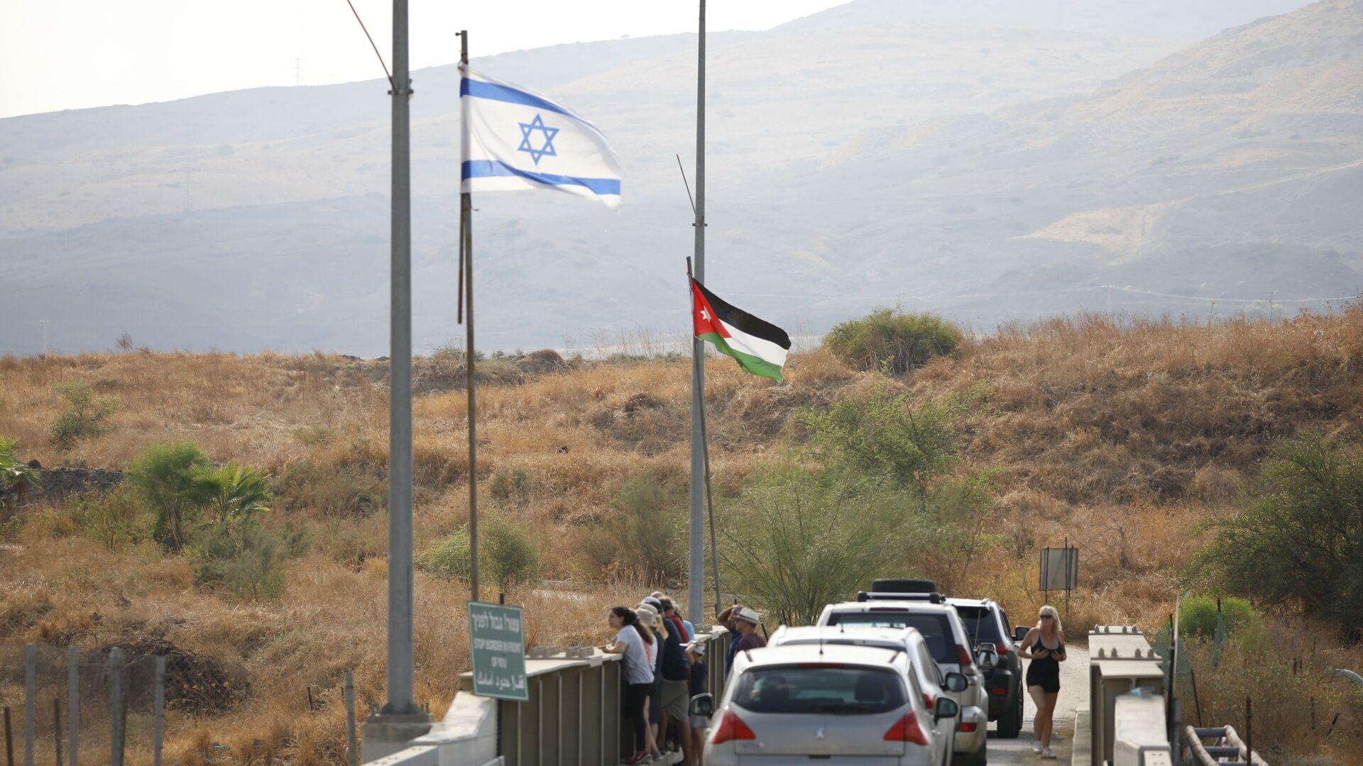 El parque de Naharayim en la frontera entre Israel y Jordania - Sputnik Mundo, 1920, 12.05.2021