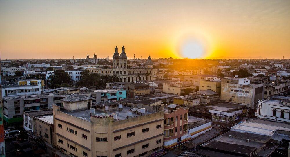 La ciudad colombiana de Barranquilla
