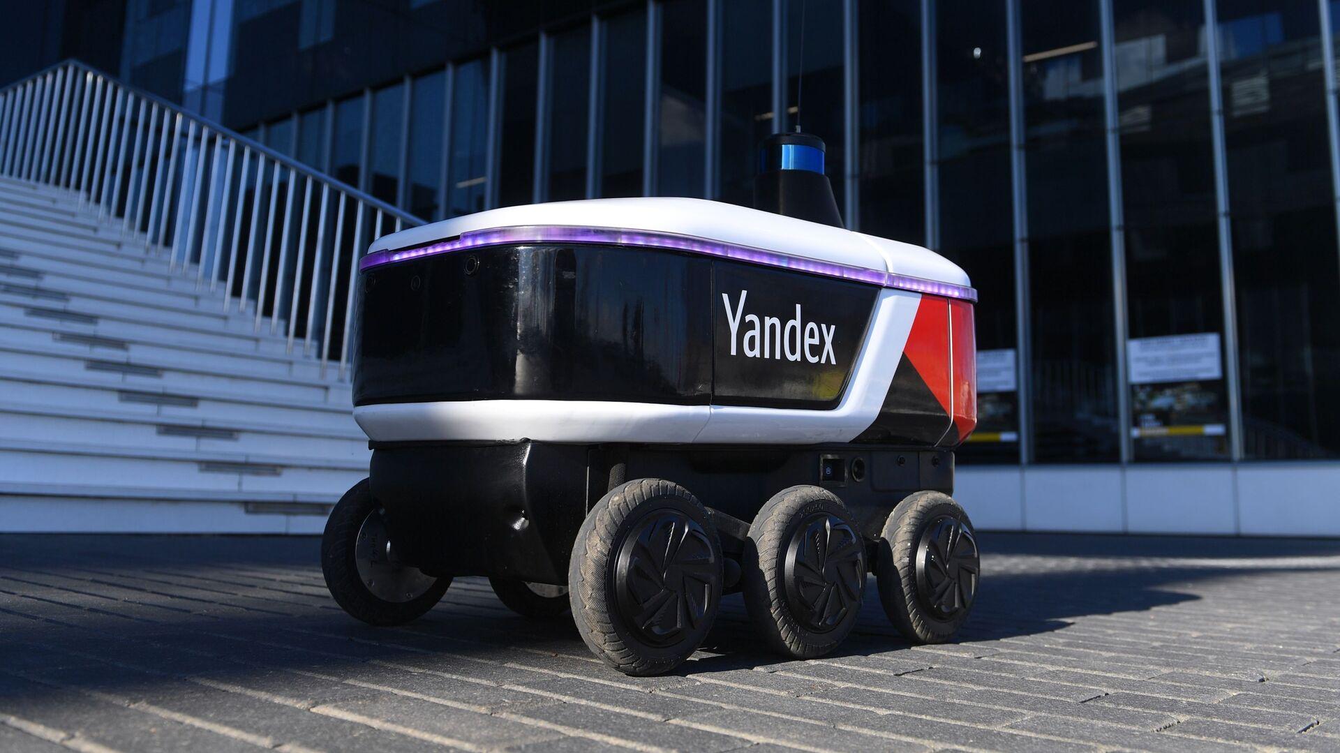 Yandex Rover, el robot ruso que hace entregas - Sputnik Mundo, 1920, 02.07.2021