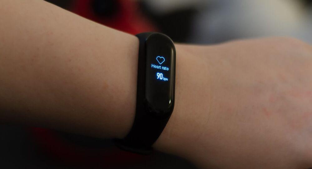 Una pulsera de Xiaomi (imagen referencial)