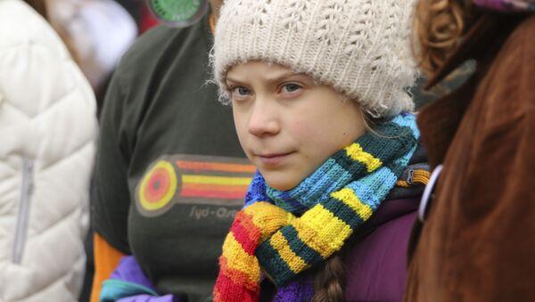 Greta Thunberg, activista medioambiental sueca - Sputnik Mundo
