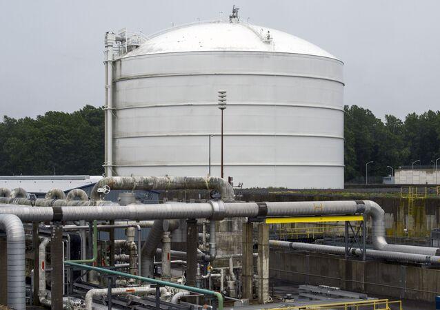 Instalaciones de GNL en EEUU