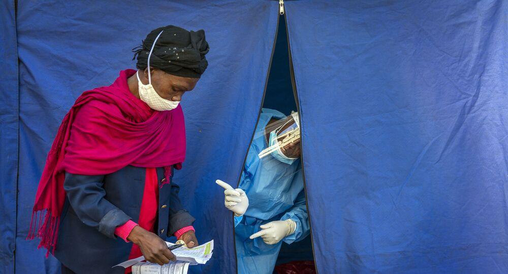 Coronavirus en Sudáfrica