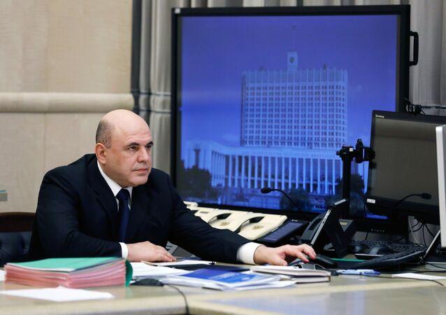 El primer ministro ruso, Mijaíl Mishustin