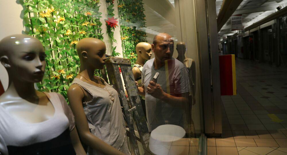 Preparan la apertura de un centro comercial en Santiago de Chile