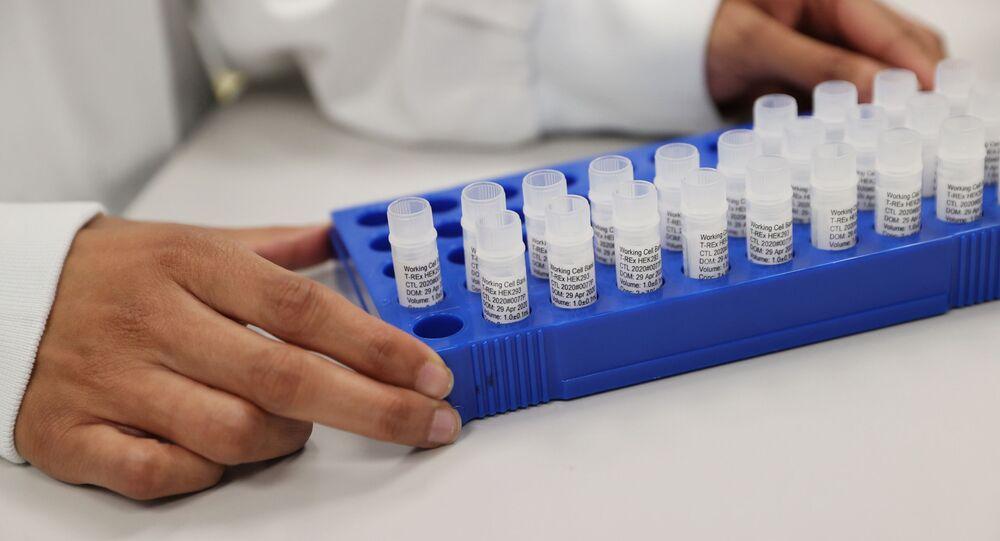Elaboración de una vacuna contra el COVID-19 (imagen referencial)
