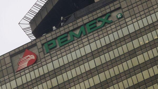 Logo de Pemex - Sputnik Mundo