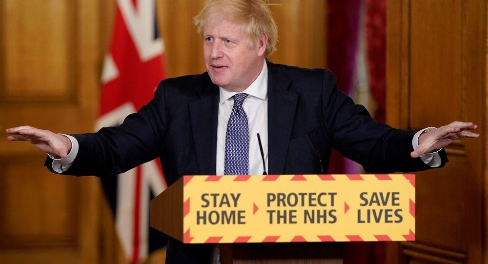 Boris Johnson, el primer ministro británico