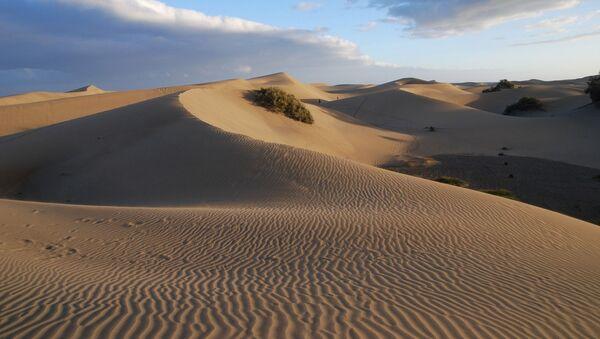 Unas dunas (imagne referencial) - Sputnik Mundo