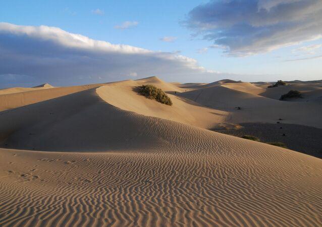 Unas dunas (imagne referencial)