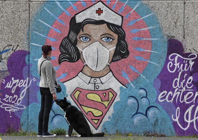Grafiti en Berlín, Alemania