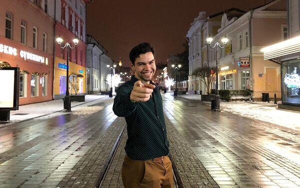 David Gómez Rodríguez en Moscú - Sputnik Mundo