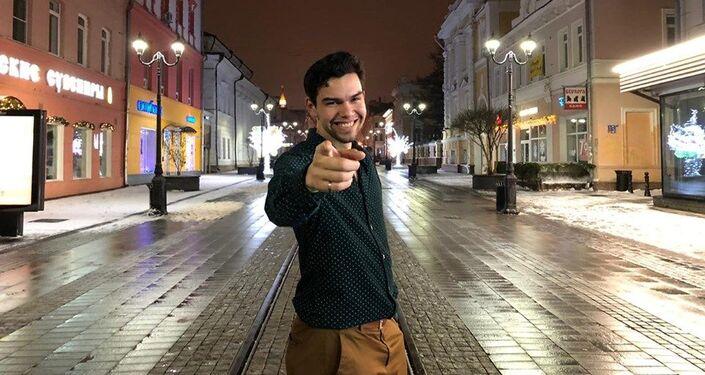 David Gómez Rodríguez en Moscú
