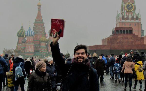 David Gómez Rodríguez en la Plaza Roja - Sputnik Mundo
